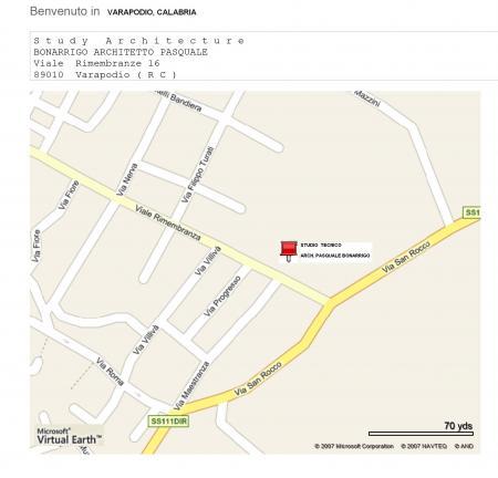 MAP ROAD CITY OF VARAPODIO, VIALE RIMEMBRANZE