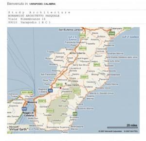 ROAD MAP REGGIO CALABRIA, ITALY | Architettura & Design Italy