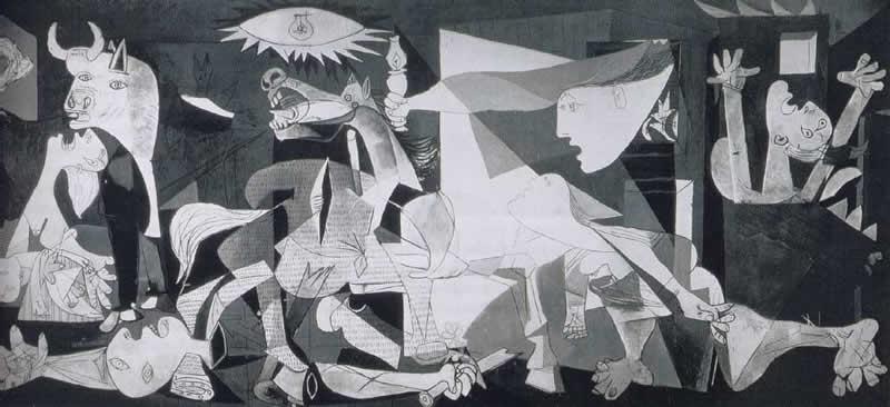4E- pablo-picasso-guernica-1937-madrid-museo-reina-sofia